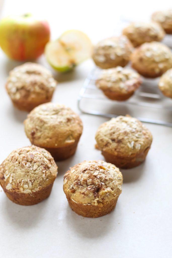Recipe Apple Pie Oatmeal Muffins