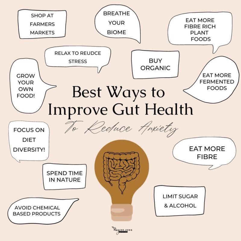 Meg De Jong Nutrition gut health for anxiety