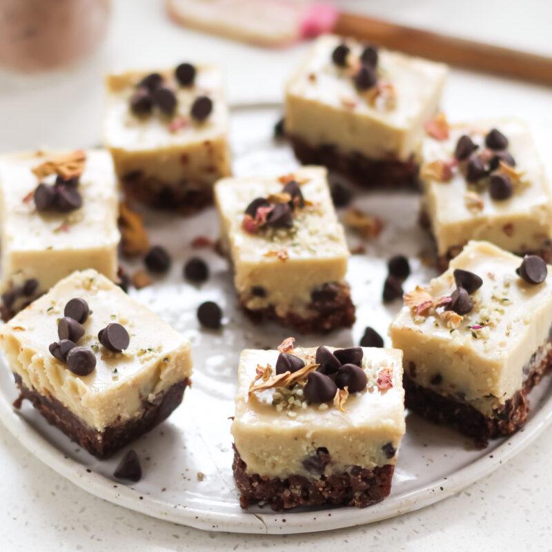 Tahini Fudge bar recipe
