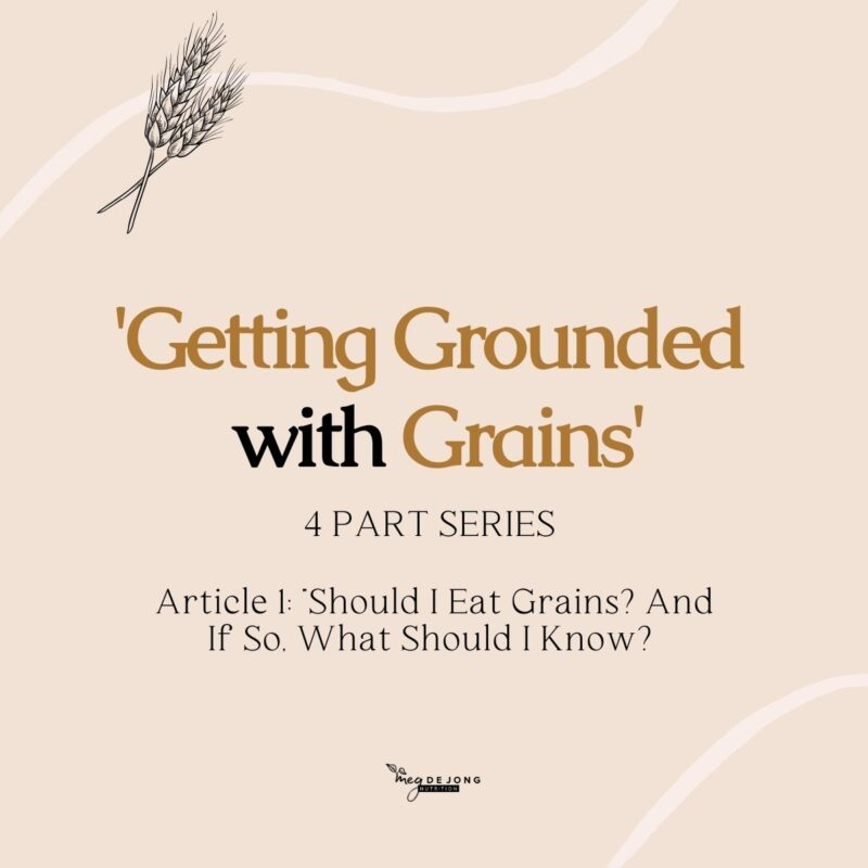 Getting Grounded with Grains blog series